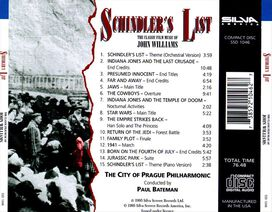 City of Prague Philharmonic Orchestra - Schindler's List: The Classic Film Music of John Williams