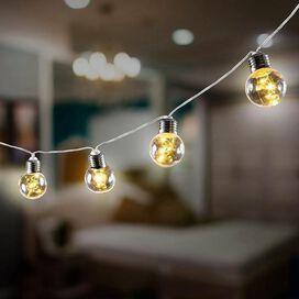 Edison Bulb LED String Lights - Clear