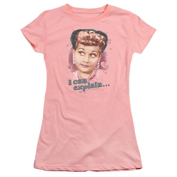 I Love Lucy I Can Explain Premium Bella Junior Sheer Jersey