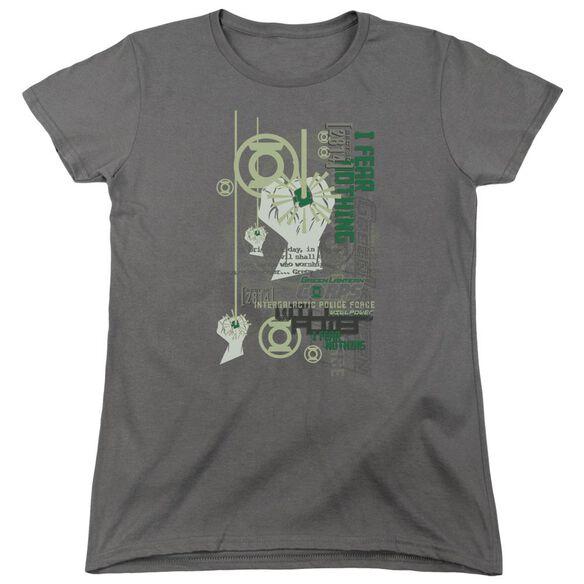 Green Lantern Core Strength Short Sleeve Women's Tee T-Shirt