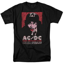 Acdc High Voltage Live 1975 Short Sleeve Adult T-Shirt