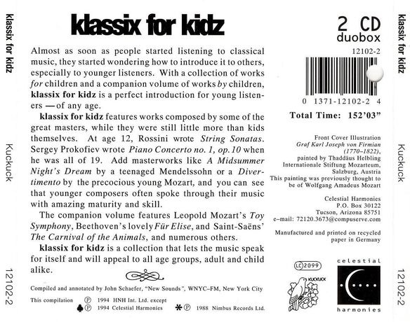 Klassix For Kidz / V
