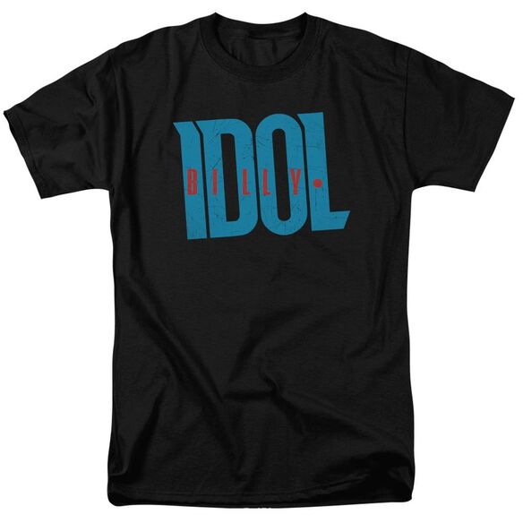 Billy Idol Logo Short Sleeve Adult T-Shirt