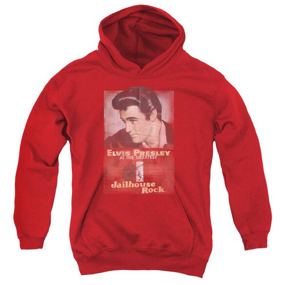 Elvis Jailhouse Rock Poster Youth Pull Over Hoodie