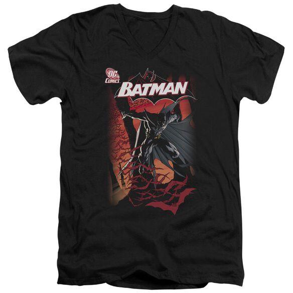 Batman #655 Cover Short Sleeve Adult V Neck T-Shirt
