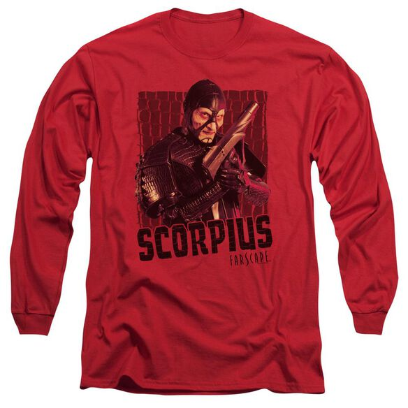 Farscape Scorpius Long Sleeve Adult T-Shirt