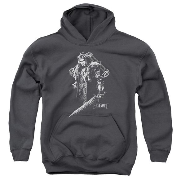 Hobbit King Thorin Youth Pull Over Hoodie