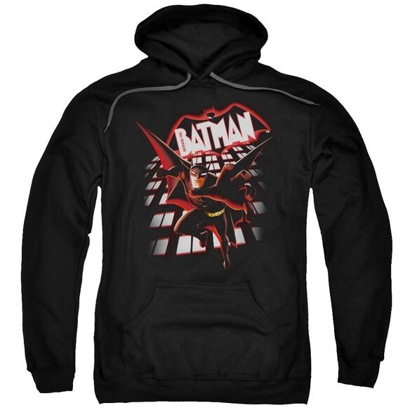 Beware The Batman From The Top Adult Pull Over Hoodie