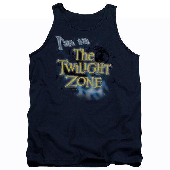 Twilight Zone Im In The Twilight Zone - Adult Tank - Navy