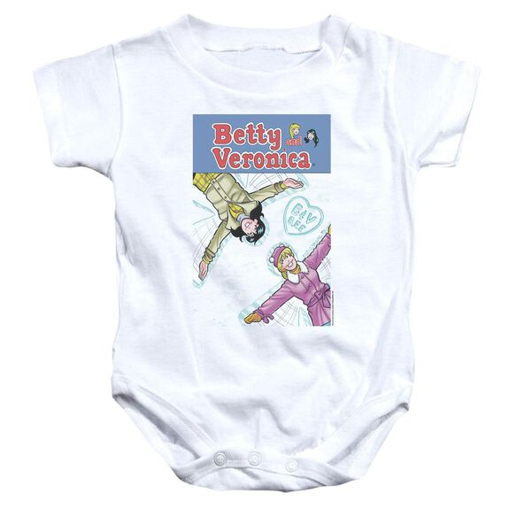 Archie Comics Cover 257 Snow Angels Infant Snapsuit White