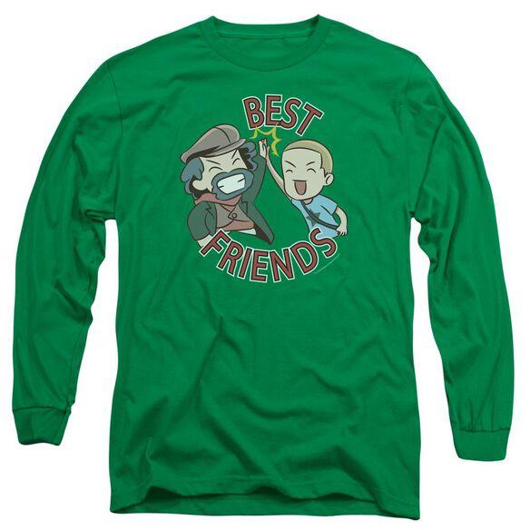 Valiantbest Friends Emoji Long Sleeve Adult Kelly T-Shirt