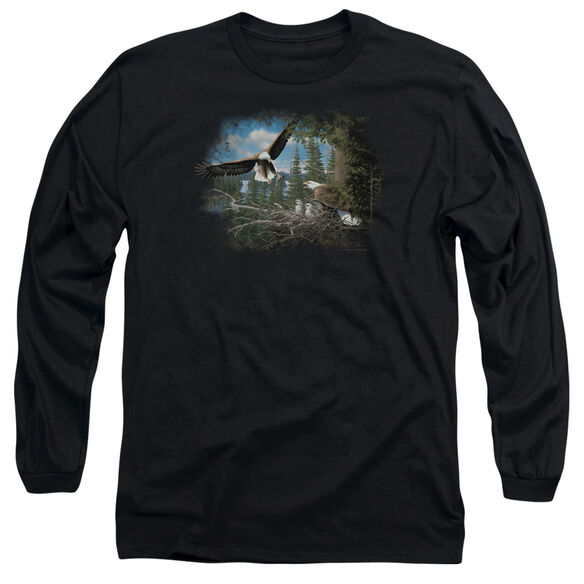 WILDLIFE SPRING BALD EAGLES-L/S T-Shirt
