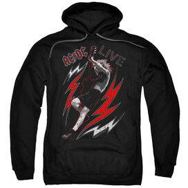 Acdc Live Adult Pull Over Hoodie
