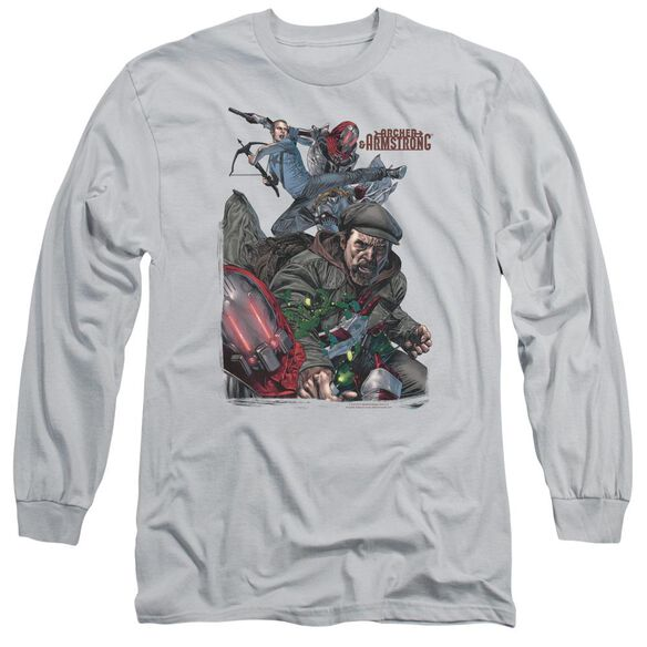 Archer & Armstrong Bottle Smash Long Sleeve Adult T-Shirt