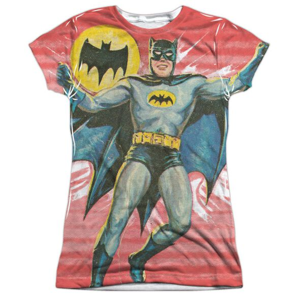Batman Classic Tv Wrong Question Short Sleeve Junior Poly Crew T-Shirt