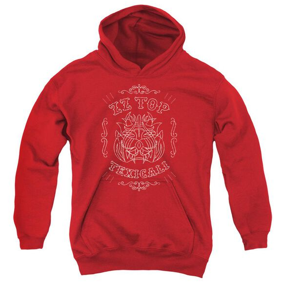 Zz Top Texicali Demon Youth Pull Over Hoodie