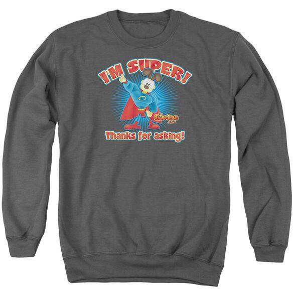 Garfield Super Adult Crewneck Sweatshirt