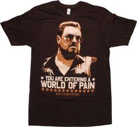 Big Lebowski Pain T-Shirt Sheer