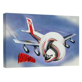 Airplane Poster Quickpro Artwrap Back Board