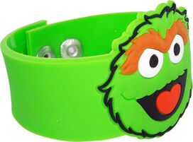 Sesame Street Oscar Rubber Wristband