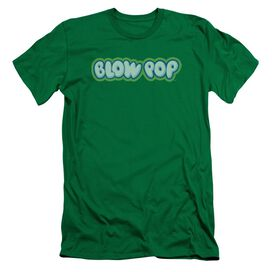TOOTSIE ROLL BLOW POP LOGO - S/S ADULT 30/1 - KELLY GREEN T-Shirt