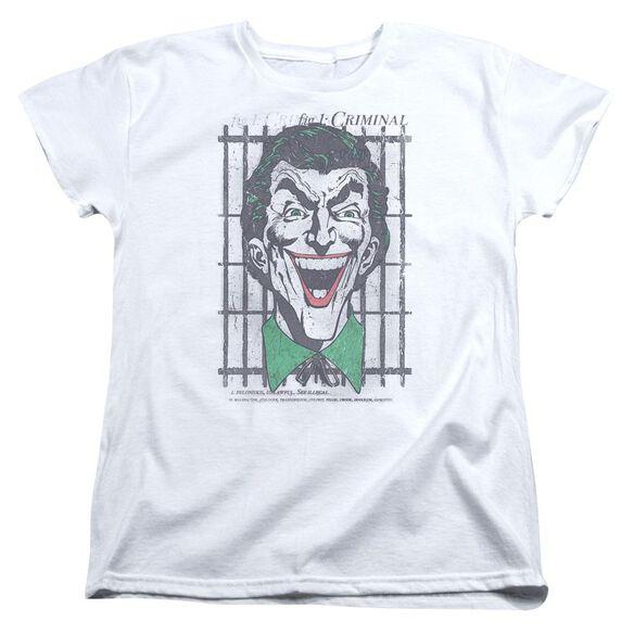 Dc Criminal Short Sleeve Womens Tee T-Shirt