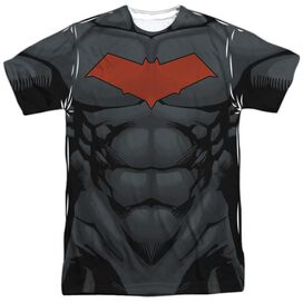Batman Red Hood Style 2 Short Sleeve Adult Poly Crew T-Shirt