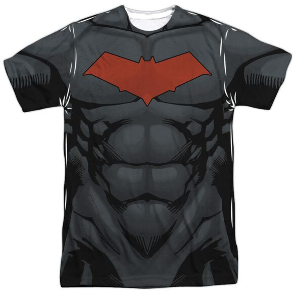 Batman Red Hood Style 2 Short Sleeve Adult Poly Crew T-Shirt