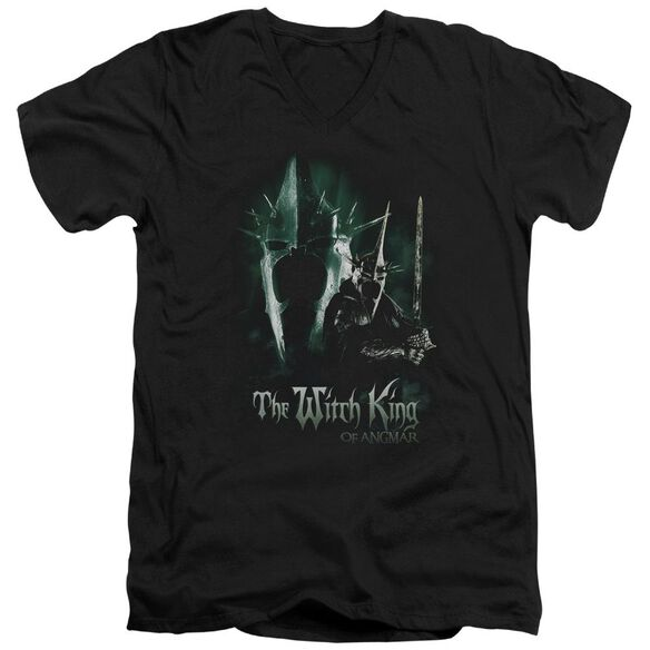 Lor Witch King Short Sleeve Adult V Neck T-Shirt