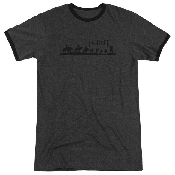 Hobbit Marching Adult Heather Ringer Charcoal