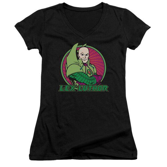 Dc Lex Luthor Junior V Neck T-Shirt