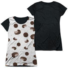 Moon Pie Sporadic Moon Pies Short Sleeve Junior Poly Black Back T-Shirt