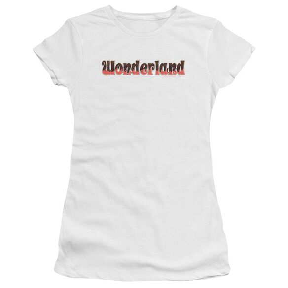 Zenoscope Wonderland Logo Premium Bella Junior Sheer Jersey