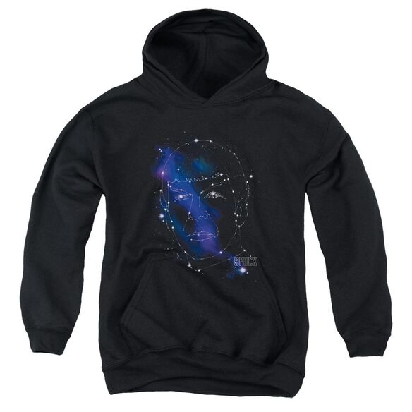 Star Trek Spock Constellations Youth Pull Over Hoodie