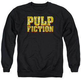 Pulp Fiction Pulp Logo Adult Crewneck Sweatshirt