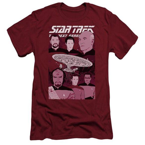 Star Trek Captain And Crew Hbo Short Sleeve Adult T-Shirt