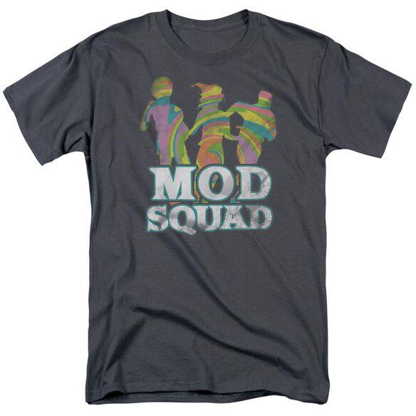 MOD SQUAD MOD SQUAD RUN GROOVY - S/S ADULT 18/1 - CHARCOAL T-Shirt