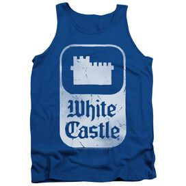 White Castle Classic Logo Adult Tank Royal