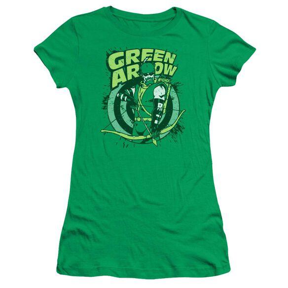 Dc On Target Short Sleeve Junior Sheer Kelly T-Shirt