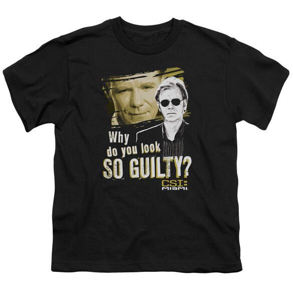 Csi Miami So Guilty Short Sleeve Youth T-Shirt