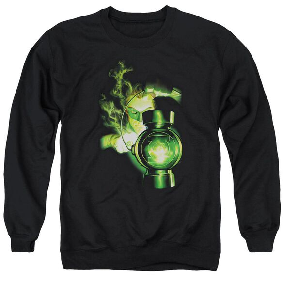 Green Lantern Lantern Light Adult Crewneck Sweatshirt