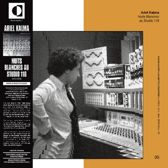 Ariel Kalma - Nuits Blanches Au Studio 116