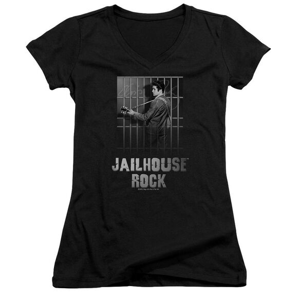 Elvis Jailhouse Rock Junior V Neck T-Shirt