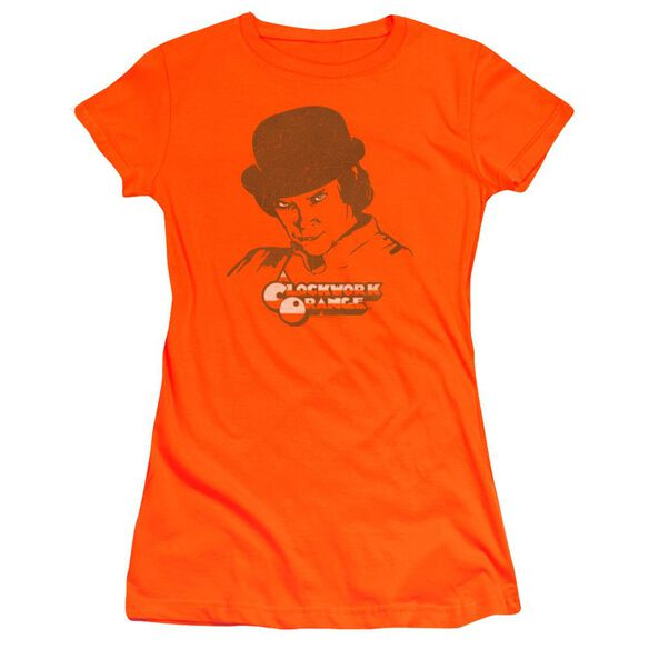 A Clockwork Alex My Boy Hbo Short Sleeve Junior Sheer T-Shirt