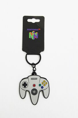 Nintendo 64 Controller Keychain