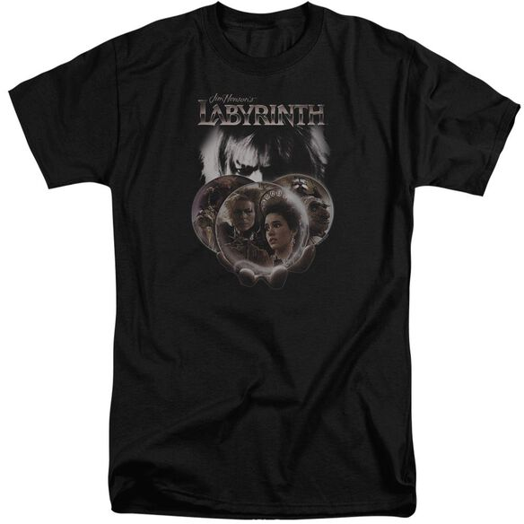 Labyrinth Globes Short Sleeve Adult Tall T-Shirt