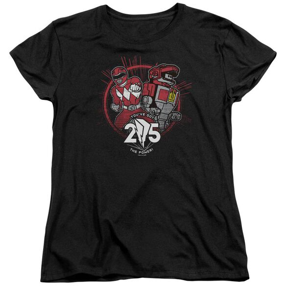 Power Rangers Red 25 Short Sleeve Women's Tee T-Shirt