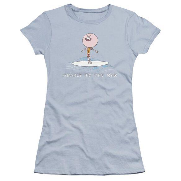 Regular Show Gnarly Hbo Short Sleeve Junior Sheer Light T-Shirt