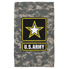 Army Patch Golf Towel W Grommet