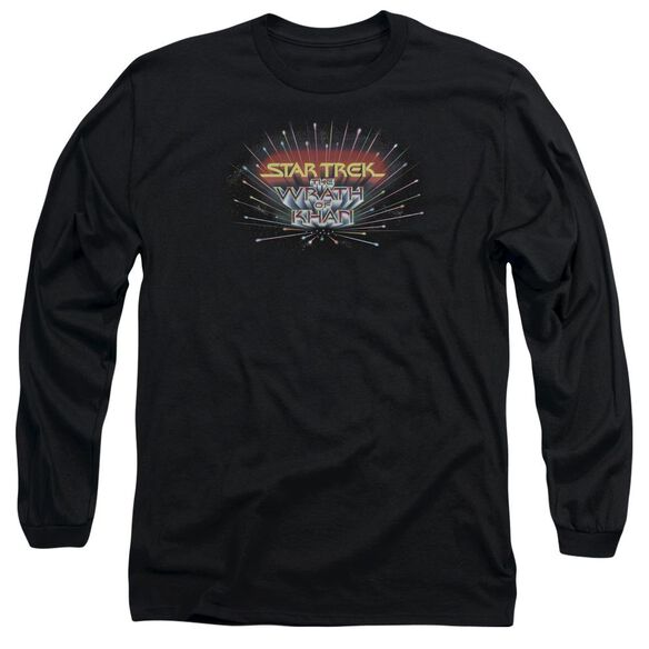 Star Trek Khan Logo Long Sleeve Adult T-Shirt